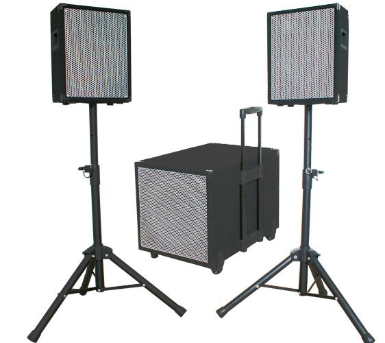 Ibiza Sound Cube 1208