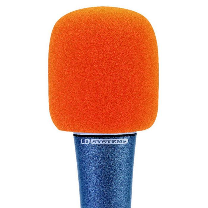 Espuma quitavientos 40/50 mm - Naranja