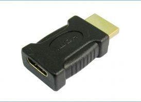 Adaptador Mini HDMI hembra >> HDMI Macho