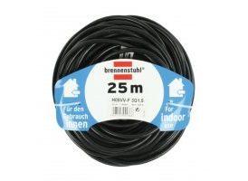 Cable de Extensión Schuko Schuko macho - Schuko hembra Negro