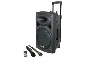"BoosT 80VHF-BT - Sistema portable 8"" + microfonia"