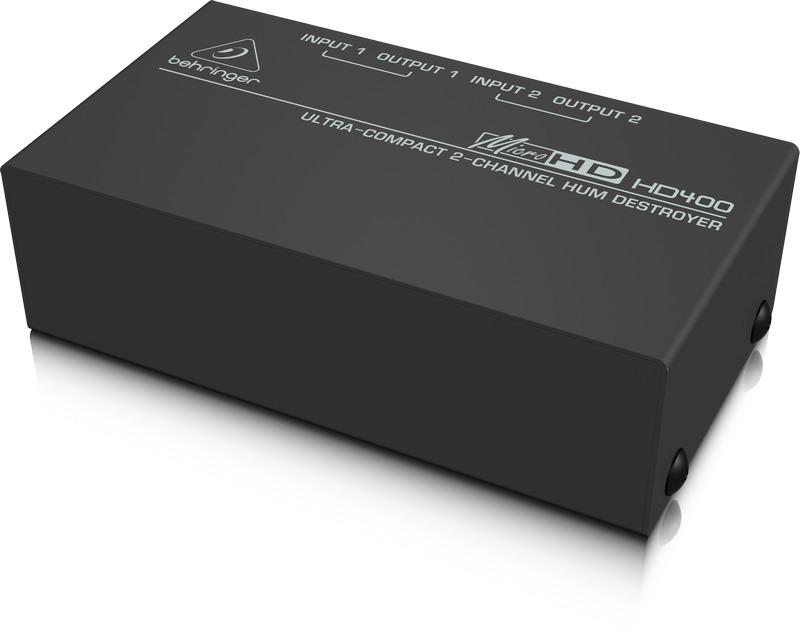 Behringer HD-400 - Eliminador de zumbidos