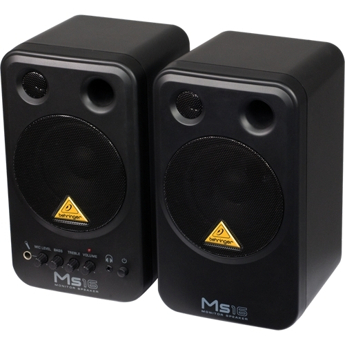Behringer Monitor Speakers MS16 (pareja)