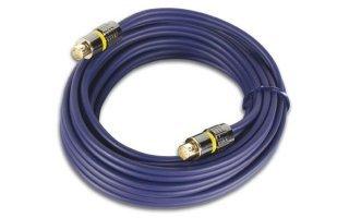Cable vídeo SVHS,2 x conector macho mini-din 4 polos, dorados , 10 metros
