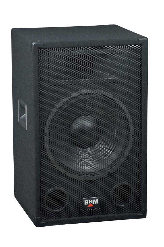 """Caja acústica , 3 Vías - BHM 12"""" 200Watt MAX"""