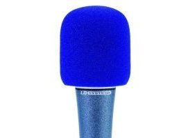 Espuma quitavientos 40/50 MM - Azul