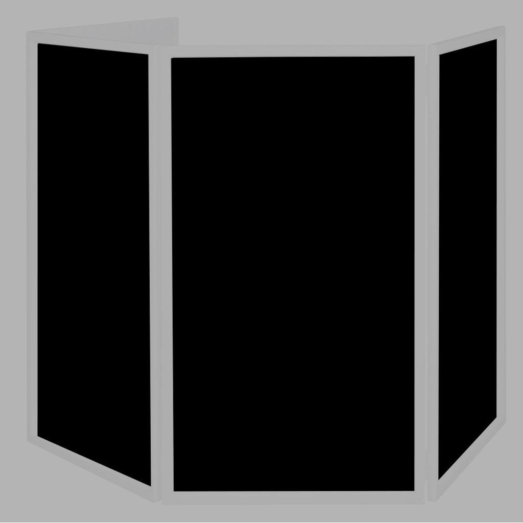 4 Telas negras para American DJ Event Facade