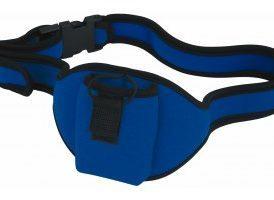 Bolsa cinturon para petaca - Azul
