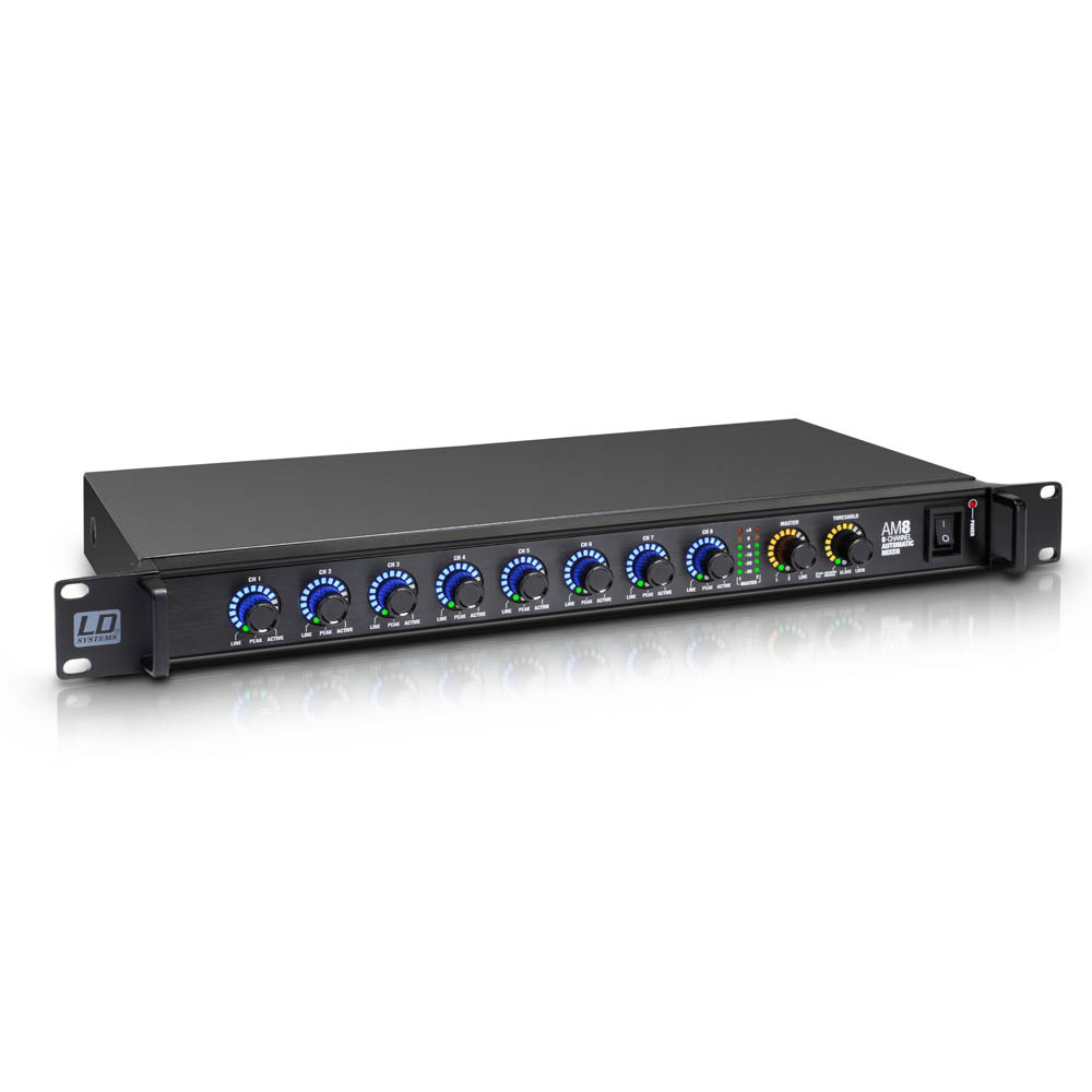 LD Systems AM 8 - Mezclador matricial automático de 8 canales