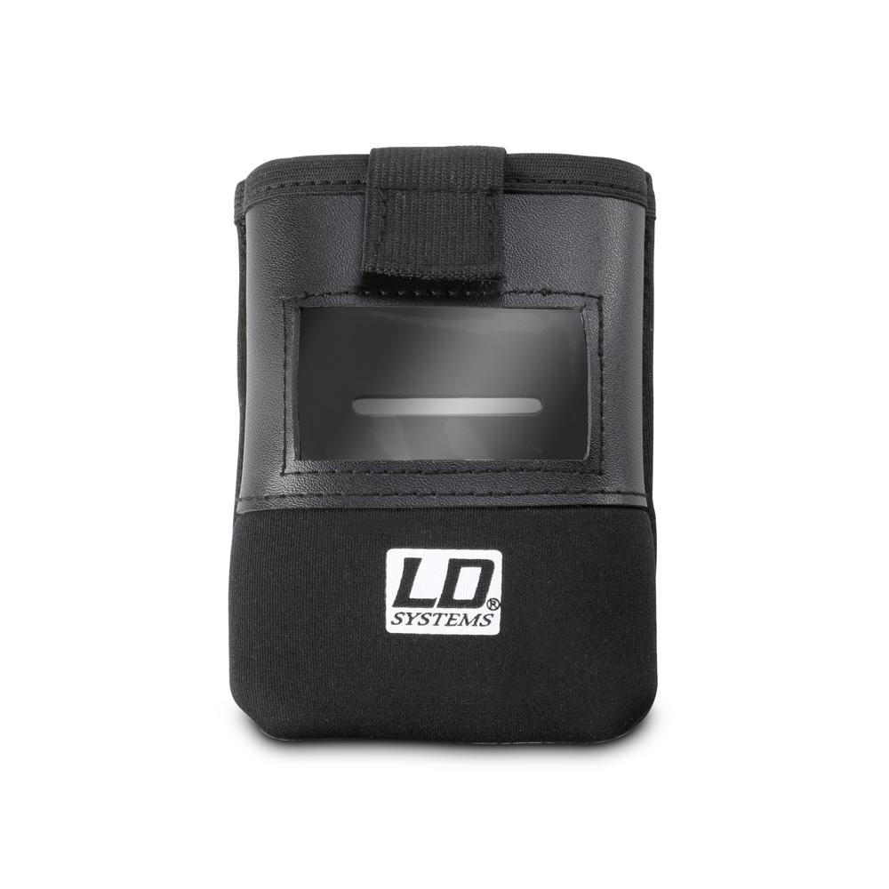 LD Systems BP POCKET 2 Bolsa para emisor de petaca con ventana para la pantalla