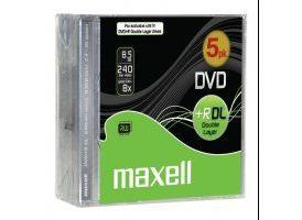DVD+R DE DOBLE CAPA MAXELL