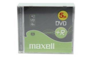 5 DVD+R DATA MAXELL