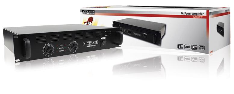 Amplificador PA 2x 1000W