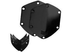V-Moda Custom Shield Kit (Negro brillante)