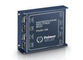 Palmer Pro PMS 02 - Splitter de Micro de 2 Canales
