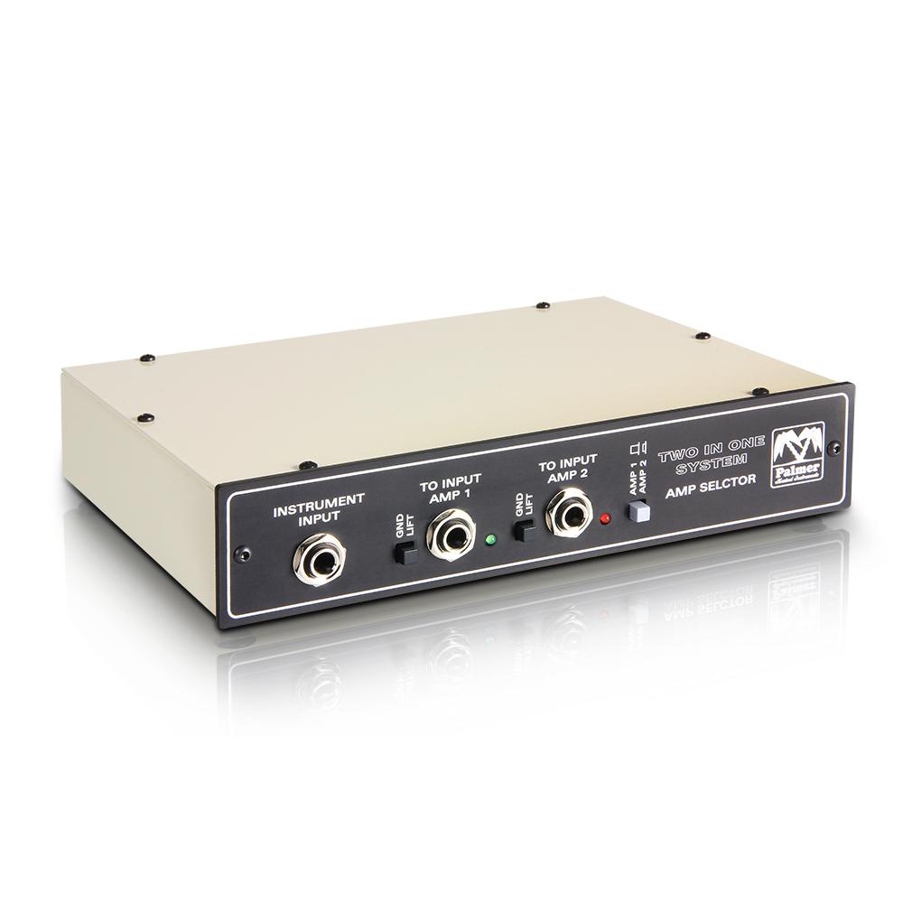 Palmer MI TINO SYSTEM - Sistema de conmutación de 2 Amplis a 1 Altavoz con Entrada Remota