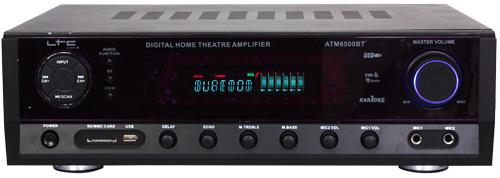 LTC Audio ATM6500BT Karaoke 2 X 50W + 3 X 20W