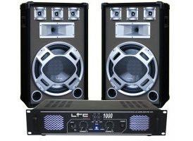 "Equipo DJ 15"" Azul LTC Audio"