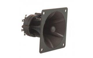 QTX Sound Tweeter Piezo Formato Bocina, 85 x 85 x 70mm 150W