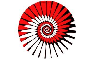 Zomo Slipmats Paint red Twin Pack