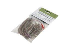 Cable espiral Sennheiser HD 25 - Transparente 3.5 m