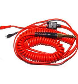 Cable espiral Sennheiser HD 25 - Rojo 3.5 m