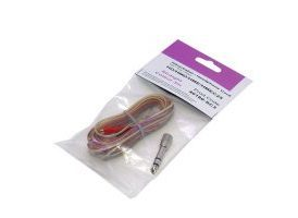 Cable liso Sennheiser HD 25 - Transparente 3 m