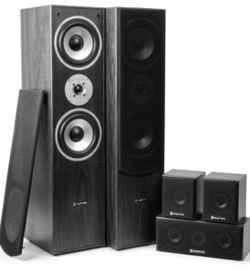 SkyTronic Sistema Home Cinema 5.0 - Negro