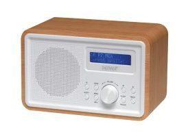 DAB-35 - RADIO DAB+/FM PORTÁTIL - CARCASA DE MADERA