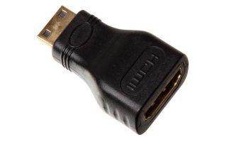 Conector mini HDMI macho a conector HDMI hembra / estándar