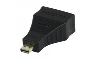 Aadaptador HDMI a hembra - micro HDMI D