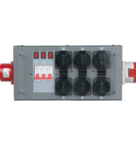Showtec Split-Power 16 Distribuidor con fusible