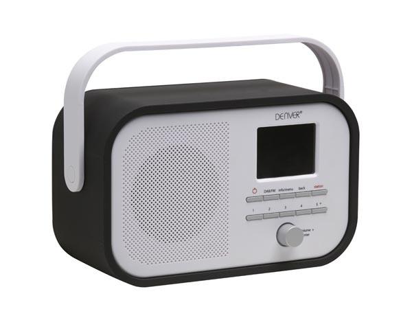 DAB-40BLACK - RADIO DAB+/FM RADIO CON SOPORTE PARA PRESENTACIÃ?N DAB - COLOR NEGRO