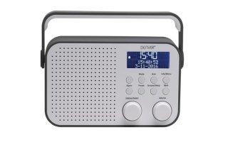 "DAB-39GREY - RADIO DAB+/FM CON PANTALLA LCD DE 2.8"""