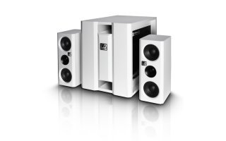 "LD Systems Dave 8"" - Multimedia 2.1 - white"