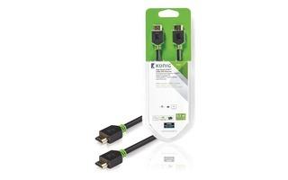 Cable de Alta Velocidad HDMI™ con Conector Ethernet HDMI™ a Conector HDMI™ de 0,50 m en gris
