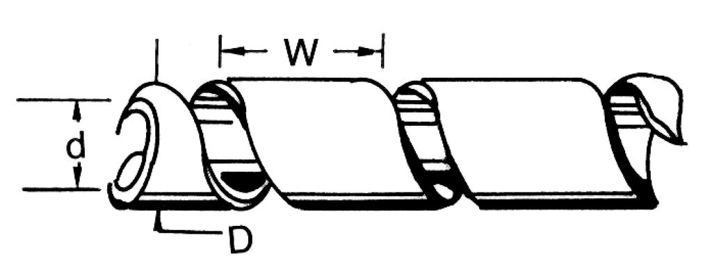 Banda para enrollar cables en color negro