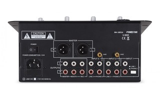 Fonestar sm 1621u mesa de mezclas 3 canales mesas dj for Mesa de mezclas fonestar