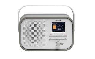 DAB-40GREY - RADIO DAB+/FM RADIO CON SOPORTE PARA PRESENTACIÃ?N DAB - COLOR GRIS