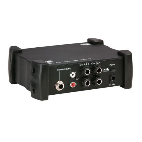DAP Audio AMP-104 amplificador de auriculares 4 canales