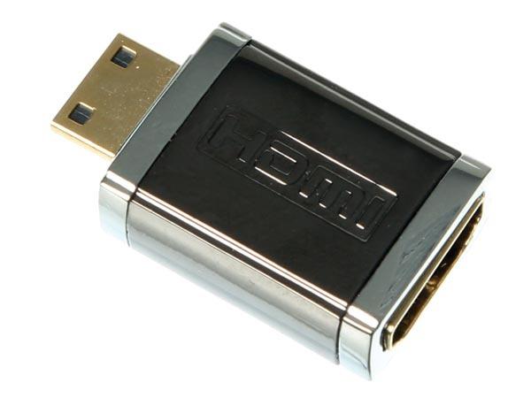 CONECTOR HDMI HEMBRA A CONECTOR MINI-HDMI MACHO / PROFESIONAL