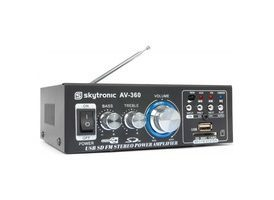 SkyTronic Amplificador Karaoke con FM/SD/USB/MP3