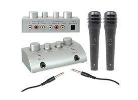 SkyTronic Mezclador de microfonos para Karaoke