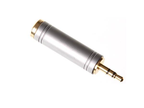 Adaptador Jack  6.35mm a Jack 3,5 m