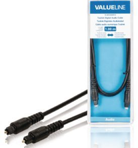 Cable de audio digital Toslink macho