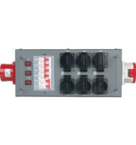 Showtec Split-Power 32 Distribuidor con fusible