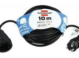 Cable de Extensión Schuko Schuko macho >> Schuko hembra Negro