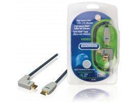 Cable HDMI con Ethernet HDMI macho - HDMI macho Ángulo hacia la izquierda 3 metros