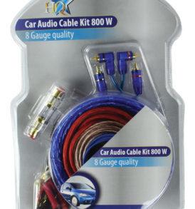 Kit de audio para coche con conectores anchos