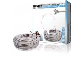 Cable de red FTP CAT6 en bobina de 100 metros